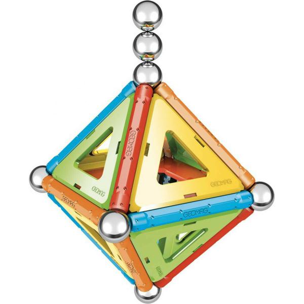 Set de constructie magnetic Geomag, Confetti, 50 piese 1