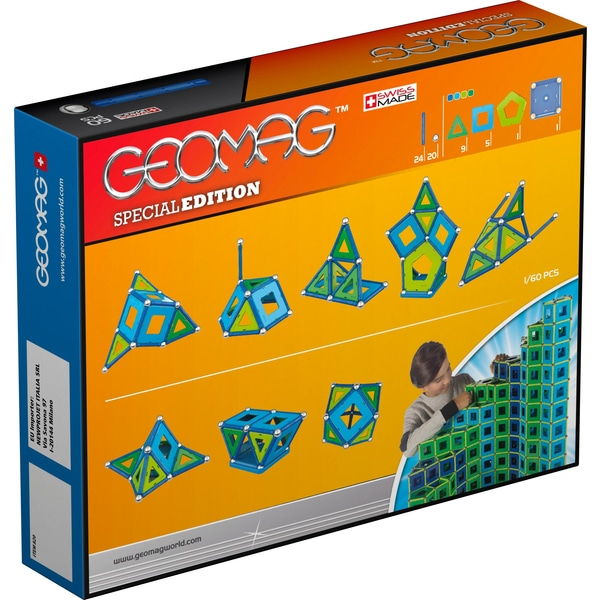 Set de constructie magnetic Geomag Editie Speciala  Color 60 piese 3