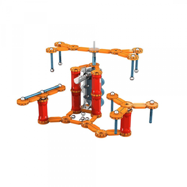 Set de constructie magnetic Geomag Gravity Race Track 169 piese 1