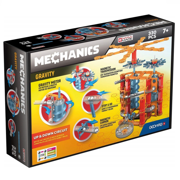 Set de constructie magnetic Geomag Gravity Up and Down 330 piese 0