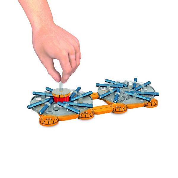 Set de constructie magnetic Geomag Mechanics 103 piese [2]