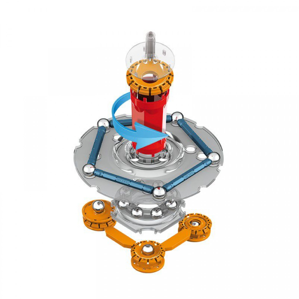Set de constructie magnetic Geomag Mechanics 146 piese 4