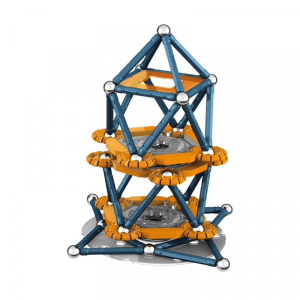 Set de constructie magnetic Geomag Mechanics 146 piese 2