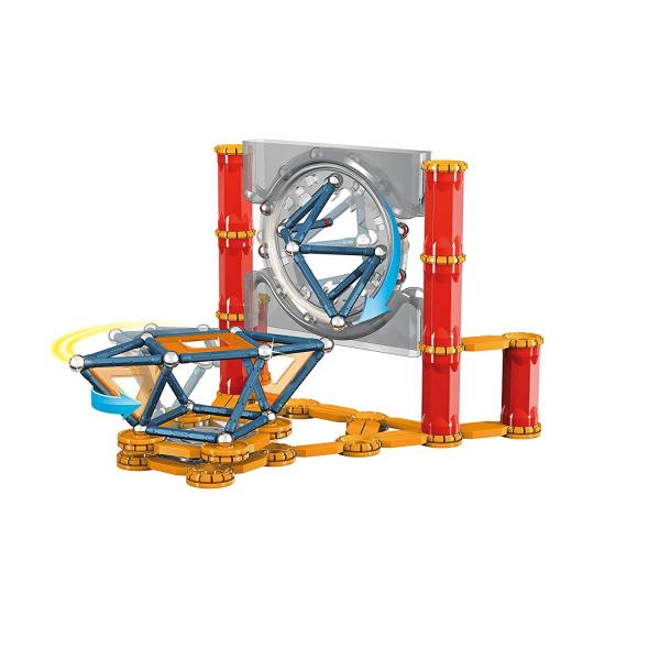 Set de constructie magnetic Geomag Mechanics 164 piese 2