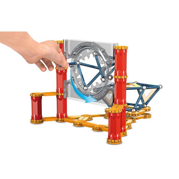 Set de constructie magnetic Geomag Mechanics 164 piese 3
