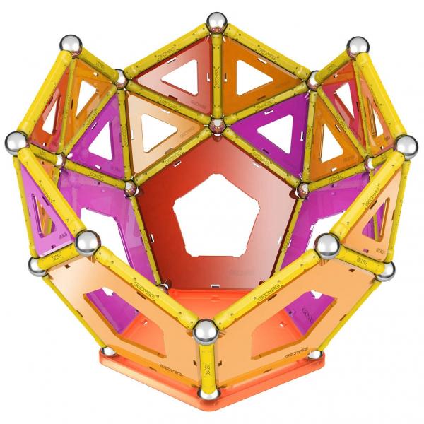 Set de constructie magnetic Geomag Panels 114 piese 4