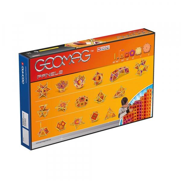 Set de constructie magnetic Geomag Panels 114 piese 1