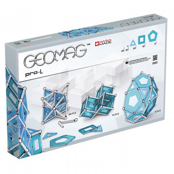 Set de constructie magnetic Geomag PRO-L 110 piese [4]