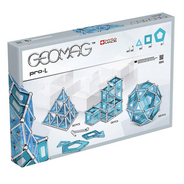 Set de constructie magnetic Geomag PRO-L 174 piese [1]