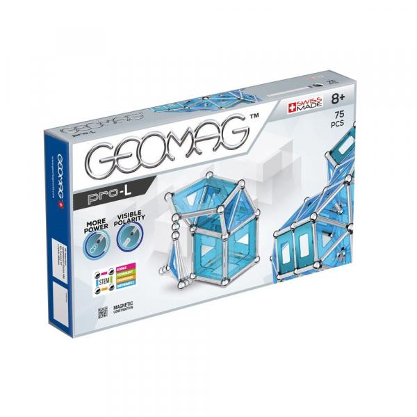 Set de constructie magnetic Geomag PRO-L 75 piese 0