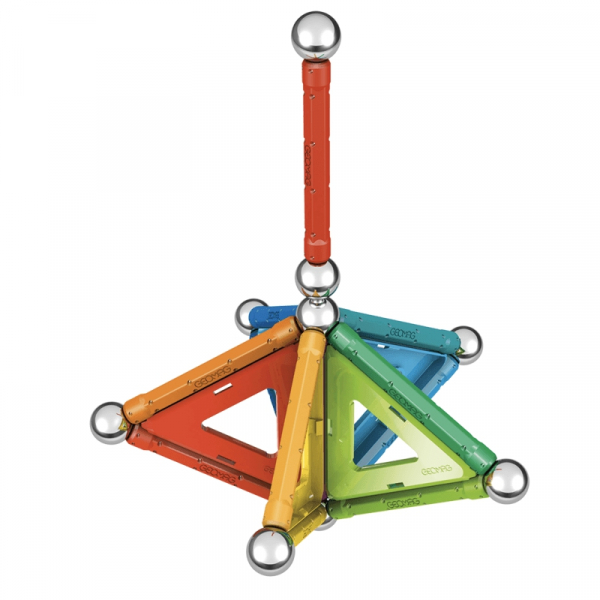 Set de constructie magnetic Geomag Rainbow 32 piese 2