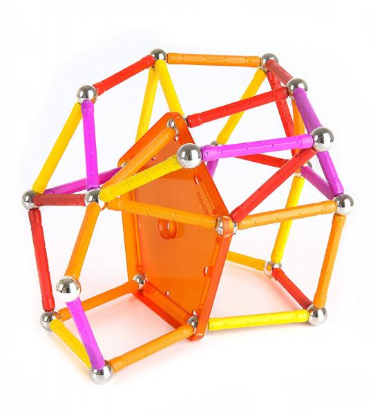 Set de construit Geomag 127 piese colorate [1]