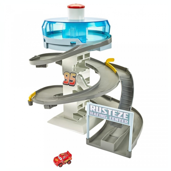 Set de joaca Disney Cars - Mini Racers Rusteze Spinning 2