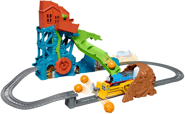 Set de joaca Fisher Price Thomas & Friends Prabusirea pesterii 0