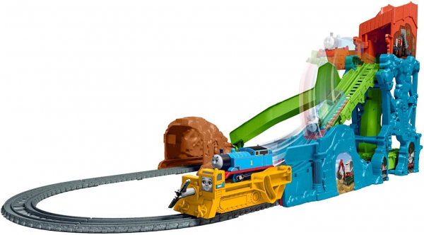 Set de joaca Fisher Price Thomas & Friends Prabusirea pesterii 1