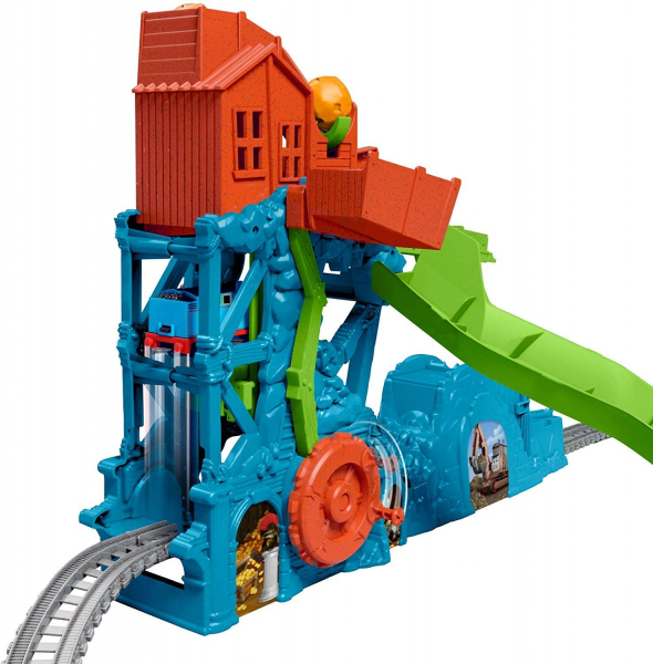 Set de joaca Fisher Price Thomas & Friends Prabusirea pesterii 2