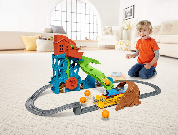 Set de joaca Fisher Price Thomas & Friends Prabusirea pesterii 3