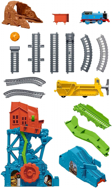 Set de joaca Fisher Price Thomas & Friends Prabusirea pesterii 4