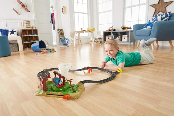 Set sine si locomotiva Thomas Twisting Tornado [4]
