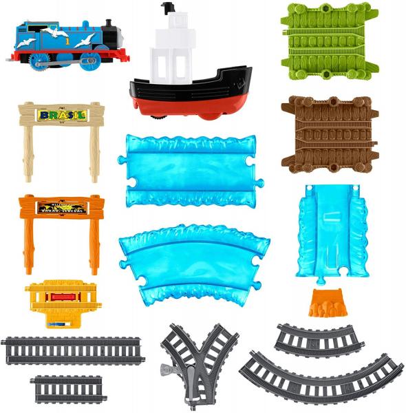 Set sine si locomotiva Thomas Boat and Sea 1