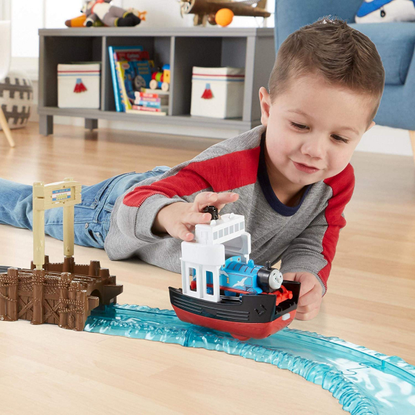 Set sine si locomotiva Thomas Boat and Sea 4