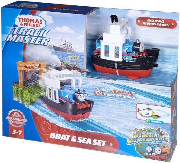 Set sine si locomotiva Thomas Boat and Sea 5