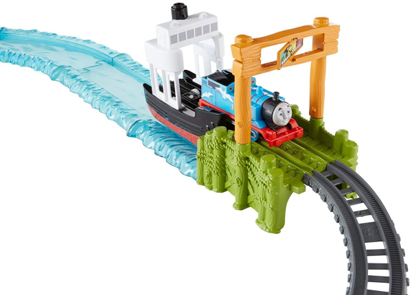 Set sine si locomotiva Thomas Boat and Sea 6