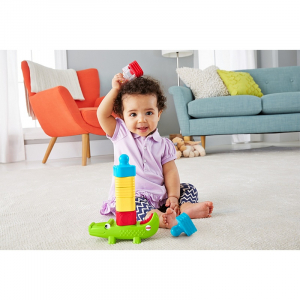 Crocodil cu turn Fisher-Price3
