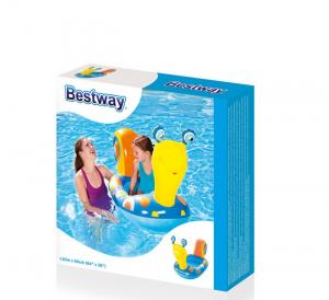 Barcuta gonflabila pentru copii cu model Melc 163 x 66 cm [2]