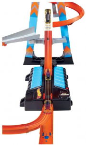 Set de Joaca Hot Wheels - Sky Crash Tower Car1