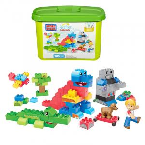 Set Cuburi Mega Bloks Construieste o poveste, 100 piese0