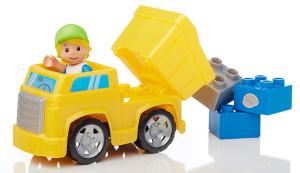 Set de constructie Mega Bloks santier cu camion, 54 cuburi4