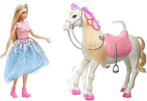 Papusa Barbie Princess Adventure si calul ei magic1