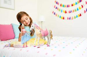 Papusa Barbie Princess Adventure si calul ei magic5