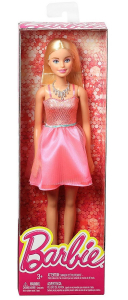 Papusa Mattel Barbie Glitz Doll papusa in rochie eleganta Roz1