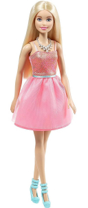 Papusa Mattel Barbie Glitz Doll papusa in rochie eleganta Roz2