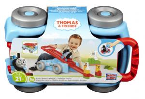 Set de joaca Mega Bloks Locomotiva Thomas vagon cursa de cale ferata [3]