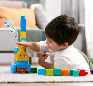 Set de joaca Mega Bloks Tren muzical ABC [1]