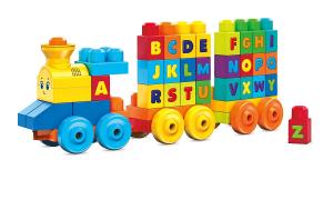 Set de joaca Mega Bloks Tren muzical ABC [6]