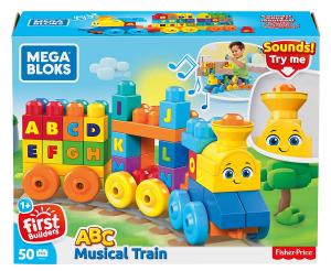Set de joaca Mega Bloks Tren muzical ABC [0]