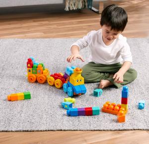 Set de joaca Mega Bloks Tren muzical ABC [7]