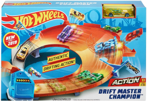 Set de joaca Mattel Hot Wheels Pista Drift Master Champion0