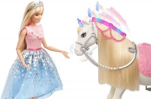 Papusa Barbie Princess Adventure si calul ei magic6