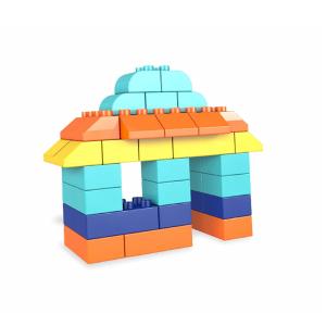 Set Cuburi Colorate de Construit Mega Bloks 60 de piese [1]