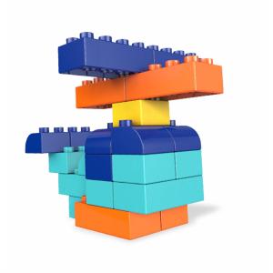 Set Cuburi Colorate de Construit Mega Bloks 60 de piese [2]