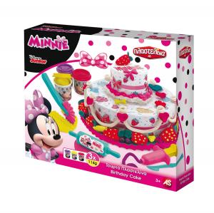 Set Tort de plastilina Art Greco Minnie Mouse0