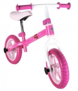 Bicicleta fara pedale D'arpeje Paw Patrol Roz/Alb0