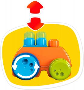 Jucarie interactiva Mega Bloks Girafa cu numere, 30 de piese2