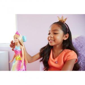 Papusa Barbie Dreamtopia, cu accesoriu perie [3]