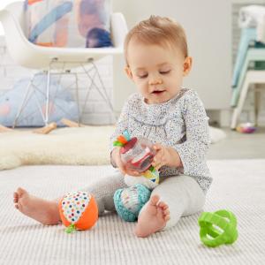 Jucarie Fisher-Price Set 5 bile senzoriale pentru bebelusi [2]